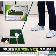 特惠~室內高爾夫球配件轉動棒練習墊家庭迷妳揮桿練習模擬器便攜打擊墊