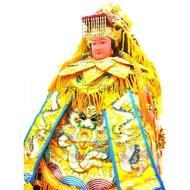 太子佛具---免運 四件組 媽祖衣服 神明衣 黃龍袍