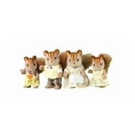 Sylvanian Families Walnut Squirrel Family - intl