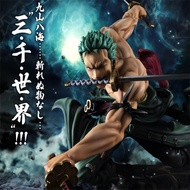 2019 อะนิเมะ One Piece 18 ซม.Roronoa Zoro SA-MAXIMUM Ver. PVC Action FIGURE Collection ของเล่น