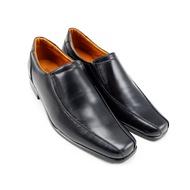 รองเท้าคัชชูหนังแท้ รุ่น LBD689-51 สีดำ