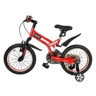 【淘氣寶寶】英國 Mini Cooper 越野型兒童自行車/腳踏車16吋-紅