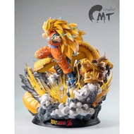 請詢問 代購   MT 七龍珠 超級賽亞人3 超三 龍拳爆發 1/4 比例 GK雕像
