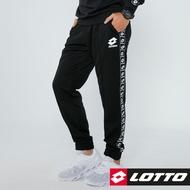 【LOTTO 義大利】男 運動長褲(深灰-LTT6453)