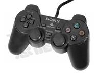 【二手商品】PlayStation 2 PS2 原廠有線控制器 黑色 搖桿 手把 手柄 把手【台中恐龍電玩】