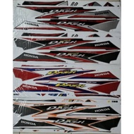 HONDA STICKER WAVE DASH 110 V2 SET STICKER