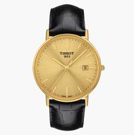 TISSOT天梭 T9224101602100 / 18K黃金石英錶