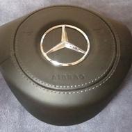 Mercedes-Benz w205 皮革包覆安全氣囊蓋
