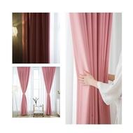 ผ้าม่านหน้าต่าง ผ้าม่านประตู สำเร็จรูป ผ้าม่านสีพื้น ผ้าม่านไม่มีลาย ผ้าม่านกันแดด ผ้าม่านกั้นห้อง