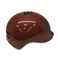 【淘氣寶寶】【日本iimo】日本iimo -新版兒童安全帽-棕色【保證公司貨】