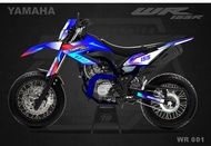 Decal Sticker yamaha WR 155 Custom Code WR 001