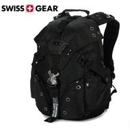 【SWISSGEAR】 瑞士軍刀 SG-16後背包 雙肩 筆電包 15.6吋 戶外 旅行  黑色 聖誕 禮物 正新品現貨