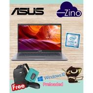 "Asus VivoBook A409F-JEB097T ( SILVER ) 14"" FHD LAPTOP"