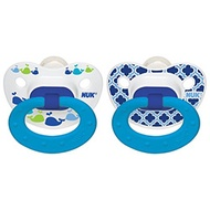 NUK Marrakesh & Whales Puller Pacifier in Boys, 18-36 Months