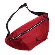 【滿額領券折$150】JORDAN【9A0245-R78】腰包 胸包 休閒 運動 帆布 大容量腰包 紅色