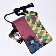 鬼滅之刃 富岡義勇 冨岡 手機側背包, 手機包, 證件包 BANDAI 日本正版