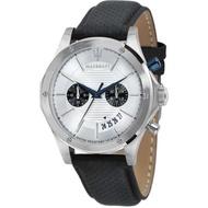 ★MASERATI WATCH★-瑪莎拉蒂手錶-皮錶帶-R8871627005-錶現精品公司-原廠正貨-