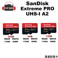 SANDISK EXTREME PRO TF microUHS-I 記憶卡 256G 128G 64G 適用GoPro