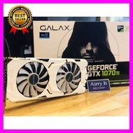การ์ดจอ GALAX GeForce® GTX 1070 Ti EX-SNPR WHITE 8GB ((มือสองสวยๆๆ))ถ่ายภาพจริง ประกัน 1เดือน คอมพิวเตอร์ มือถือ VGA การ์ดจอ หูฟัง HDMI Case Mainboard Game เกม จอ สำนักงาน โทรศัพท์ Computer