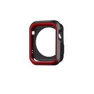 Silicone Cover For Apple Watch Series 3 2 1 Case 42 38mm Sport Band Strap Full Rubber Protector Case 40mm 44mm For apple Watch 6 SE 5 4