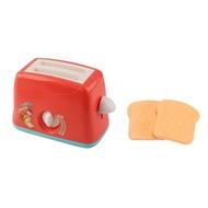 เด็กแกล้งชุดของเล่นจำลองเครื่องปิ้งขนมปังเครื่องทำขนมปังเครื่องชงกาแฟเครื่องปั่นอุปกรณ์อบอาหารเกม Mixer ครัวของเล่นภาระกิจ