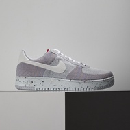 【Nike】Air Force1 Crater Flyknit 男 灰粉紫 潑墨 環保 材質 休閒鞋 DC4831-002