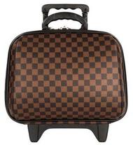 ProLuggage กระเป๋าเดินทางล้อลาก 14 นิ้ว แบรนด์ MZ Polo รุ่น Louise Mini 06214 (Brown) จำนวน 1 ใบ