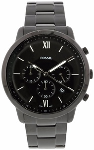 Fossil Men's FS5474 Neutra Chronograph Black Stainless Steel Watch