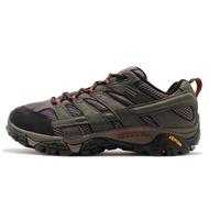 Merrell 戶外鞋 Moab 2 GTX Wide 灰 黑 寬楦 登山鞋 男鞋 ML06039W 【ACS】