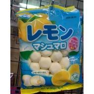 日本。Eiwa伊華*檸檬夾心棉花糖-80g