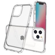 iPhone 12 mini 12 Pro Max Clear Cover Tempered Glass Case for iPhone 12 /12 Pro /12 Pro Max  Cases