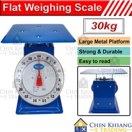 Flat Scale Commercial Mechanical Weighing Scale Analog Scale Timbang Penimbang 30kg