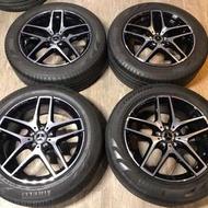 🌟BENZ GLC43 AMG原廠19吋鋁圈+胎