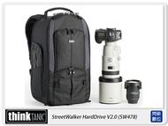 【折價券現折+點數10倍↑送】thinkTank 創意坦克 StreetWalker HardDrive V2.0健行者雙肩 後背 SW478 TTP478