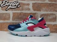 BEETLE NIKE HUARACHE RUN GS 桃紅 紫 淺藍 武士 女鞋 史迪奇 慢跑鞋 654280-401