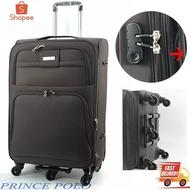 กระเป๋าเดินทาง POLO กระเป๋าเดินทาง ผ้า รุ่น POLO ขนาด 20 นิ้ว W14/20 TSA กระเป๋าเดินทางรุ่นพิเศษ 5 ล้อหมุนได้360°