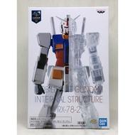 全新 [台灣] 現貨 代理版 景品 機動戰士鋼彈 RX-78-2 鋼彈 初鋼 40週年 RX-78 半剖 透明 精緻
