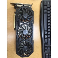 技嘉 NVIDIA GeForce GTX 970 4G G1 GAMING 二手良品 非 950 960
