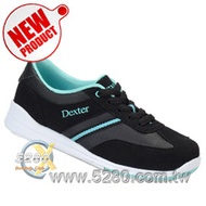 【空運預購】Dexter Dani (Women's) 保齡球鞋-黑藍綠 (左右手打者均適用,歡迎訂購~)