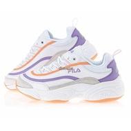 Korea purchasing Fila Ray old shoes pink purple pink orange purple