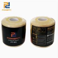POWERTI  PT-60 緩衝膜 皮膚膜   羽球 網球 釣竿 球棒 台灣製 握把緩衝膜 減震打底膜
