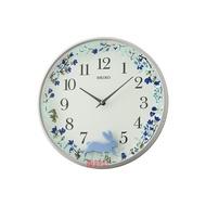 掛時計【SEIKO】日本 精工 SEIKO  花好月圓 兔子搖動擺飾 時鐘 掛鐘 QXC238  QXC238N