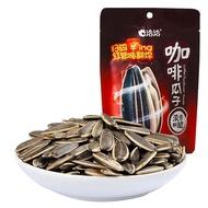 洽洽咖啡瓜子108g32袋 整箱 恰恰原香焦糖山核桃味蜂蜜海鹽葵花籽炒貨