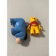 Lego Duplo 樂高 得寶 5947 小熊維尼的家 二手 單售 人偶 小豬 驢子屹耳 兩隻合售