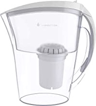 Invigorated Water Ph Refresh Alkaline Water Pitcher With Long-Life Filter Alkaline Water Filter Water Filtration System High Ph Alkaline Water Dispenser, 84Oz, 2.5L