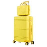 ประกันกระเป๋าเดินทางสีแดง กระเป๋ารถเข็นขนาดเล็ก 20 ใบสำหรับนักเรียนชายและหญิงความจุขนาดใหญ่ 24 นิ้วรหัสผ่านกระเป๋าเดินท