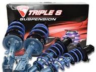 阿宏改裝部品 5代 CAMRY KYB NEW SR 藍桶 避震器 + TS 短彈簧 總成 可刷卡 前上座 正廠