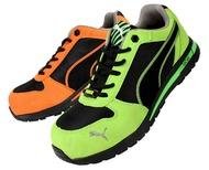 日本代購 空運 PUMA Airtwist 安全鞋 工作鞋 作業鞋 塑鋼鞋 鋼頭鞋 耐熱 耐衝擊 男鞋 綠色 橘色