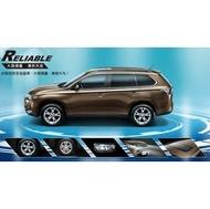 (舞山林)Mitsubishi 三代 Outlander 專用車頂架THULE WingBar Edge+THULE行李箱  / 橫桿行李架置放架