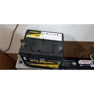 (二手中古電池) ATLASBX 75D23L(35-60)-SMF 免保養汽車電池 數值漂亮,品項優